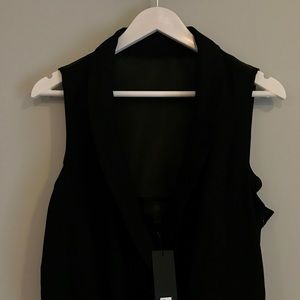 New with tags black jumpsuit